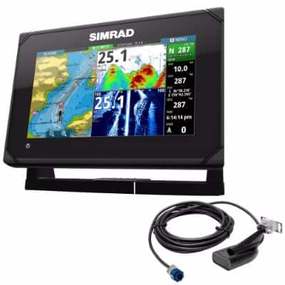 #7 Simrad Go7 Xse Chartplotter With MedHighDownscan