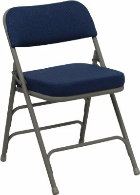 Flash Furniture Series Premium Curved Metal Folding Chair