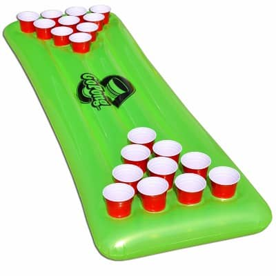 GoPong Pool Pong Table, Inflatable Floating Beer Pong Table