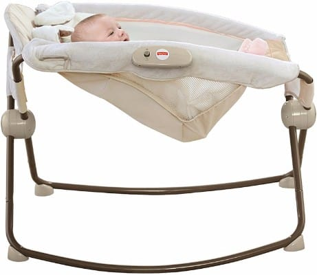 #8 Fisher-Price My Little Snugapuppy Deluxe Rock 'N Play Sleeper