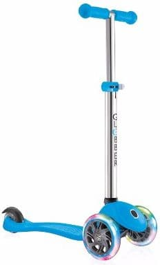 #8. Globber 3 Wheel Adjustable Height Scooter with LED Light Up Wheels