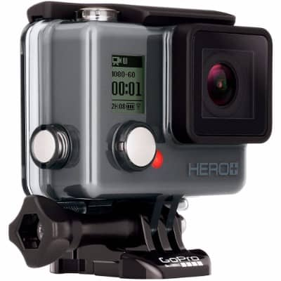 #8. GoPro Camera HERO+ LCD HD Video Recording Camera
