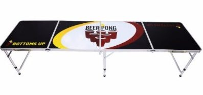 HomCom 8' Portable Beer Pong Table