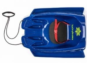 Lucky Bums Toddler Pull sled, Blue