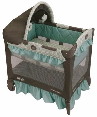 #9 Graco Pack 'n Play Travel Lite Crib Playard, Winslet