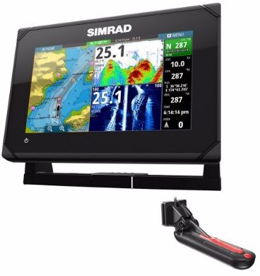 #9 Simrad GO7 XSE ChartplotterFishfinder wTotalScan transducer