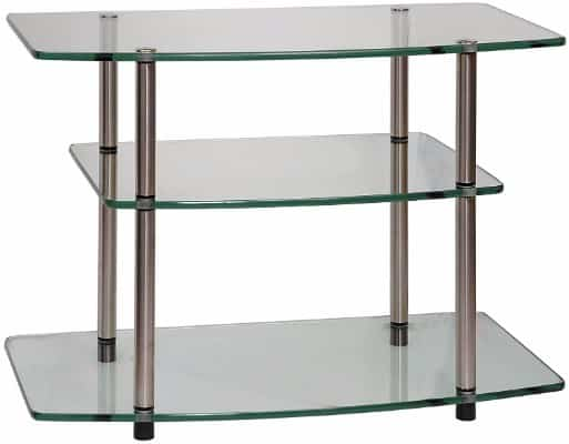 Convenience Concepts Designs2Go Go-Accsense Glass TV Stand