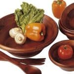 Top 10 Best Wooden Salad Bowl Sets in 2017 Reviews