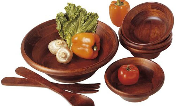 Top 10 Best Wooden Salad Bowl Sets To Buy – In 2021 Review