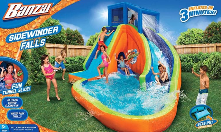 top 8 best inflatable pool slides in 2018 reviews buyers guides - Inflatable Pool Slide