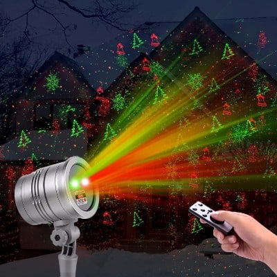 christmas laser lights outdoor projector lights by clustars - Christmas Outdoor Projector