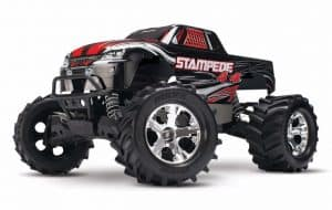 Traxxas Stampede 4WD Black Monster Truck
