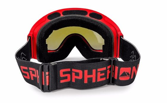 Spherion Gear Ski Goggles plus detachable Amber Lens
