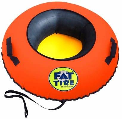 Fat Tire Snow Tube – Neon Orange