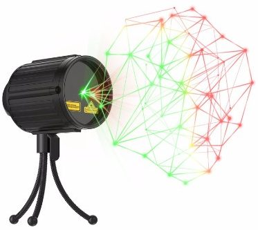 Laser Lights,Laser Christmas Lights Halloween Star Laser Shower