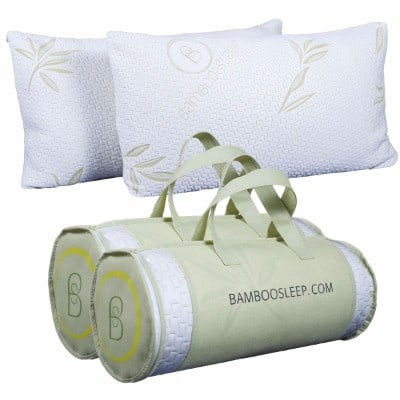 Bamboo Sleep Premium Bamboo Pillow, 2 Set