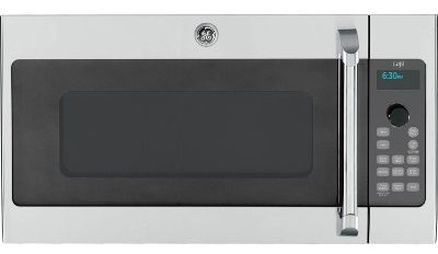 "GE Cafe Advantium CSA1201RSS 30"" 1.7 cu. ft. Capacity Over-the-Range Convection Microwave Oven"