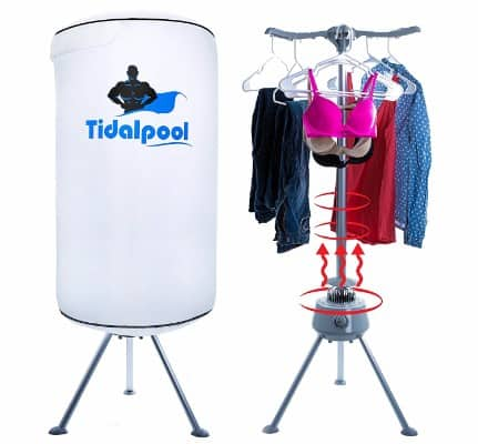 Electric Portable Clothes Dryer - Laundry Drying Rack with High Powered