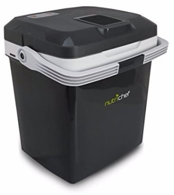NutriChef Portable Electric Cooler, 28 Liter