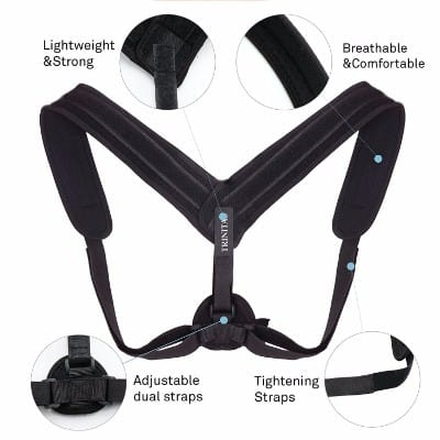 Trinitas Sports Posture Corrector Strap for Clavicle Support