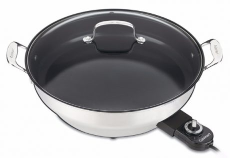 Cuisinart CSK-250WS Nonstick Electric Skillet, 14-inch