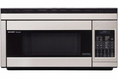 Sharp R1874T Over-the-Range Convection Microwave, 850-watt