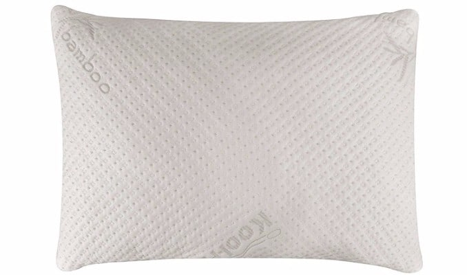 Snuggle-Pedic Bamboo Shredded Pillow, Queen