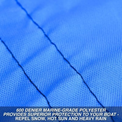 Budge 600 Denier Heavy-duty Polyester Boat Cover
