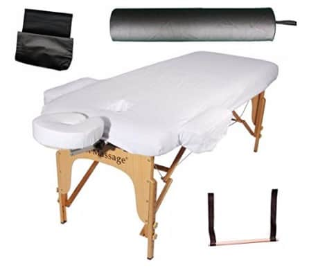 "2.5"" Massage Table Portable Facial SPA Bed"