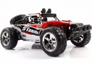 AHAHDD Rock Crawler Racing Monster Truck, Red