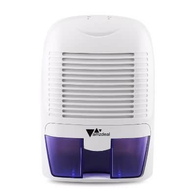 Amzdeal Portable Dehumidifier Electric Compact Dehumidifier Air Dryer