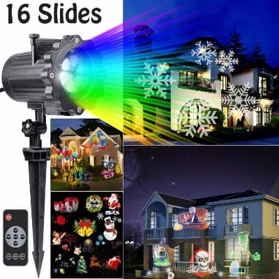 Hottly Led Christmas Light Projector