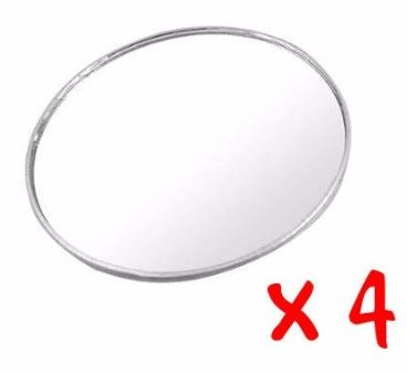 Essential Contraptions Best Blind Spot Mirror, 4- Pack