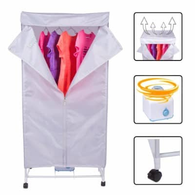 15KG Compact Electric Portable Clothing Dryer - Portable Clothes Dryer
