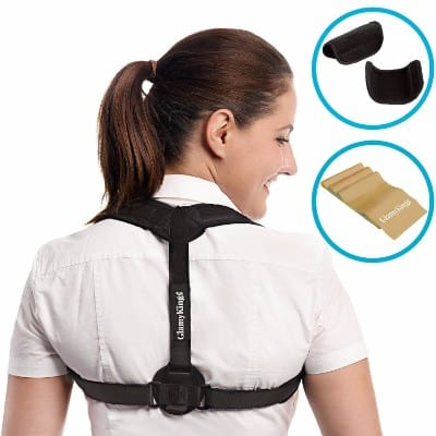 Posture Corrector for Women & Men - Adjustable Clavicle Brace