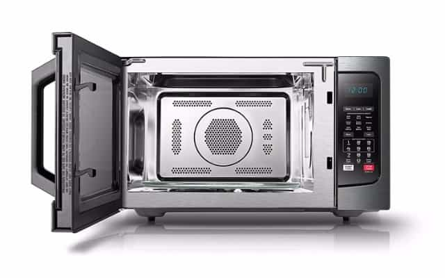 Toshiba EC042A5C-BS Convection Microwave, 1.5 Cu.ft. Black