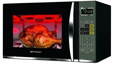 Emerson 1.2 cu.ft.1100w Griller Microwave Oven with touch control