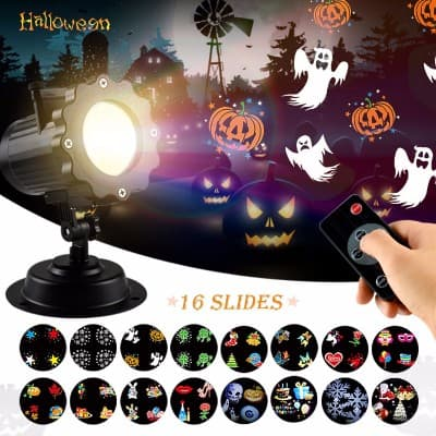 Halloween LED Light Projector