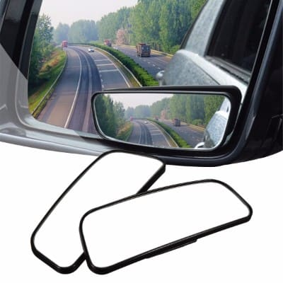 BLIND SPOT MIRROR CHILD SAFETY UNITS ROUND STICK ON EXTRA ANGLE EASY REVERSE AID