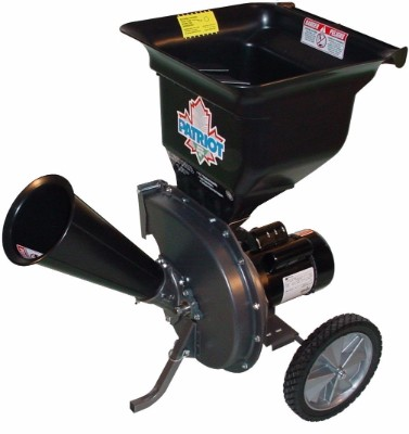 Patriot Products CSV-2515 Electric Wood Chipper, 14-amp