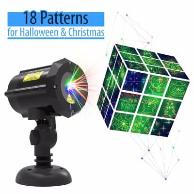 Laser Light Christmas Laser Lights with 18 Patterns