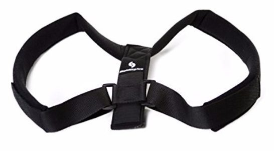 StabilityAce Upper Back Posture Corrector Brace and Clavicle Support for Fractures, Sprains
