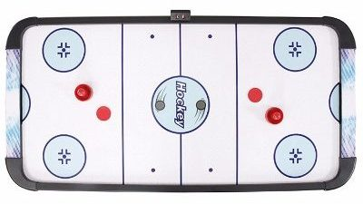 Hathaway Face-Off Air Hockey Table, BlueBlack