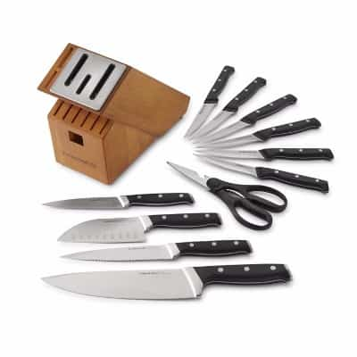 Calphalon Classic Self-Sharpening Knife Set, 12 Pieces