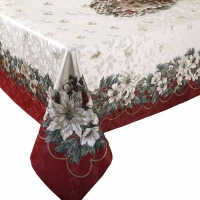Benson Mills Christmas Noel Printed Tablecloth