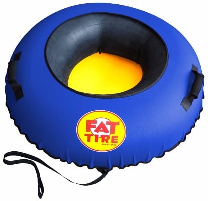 Fat Tire Snow Tube – Blue