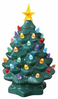 11 nostalgic ceramic christmas tree