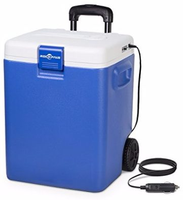 Rockpals Wheeled Electric Cooler:Warmer, 30 Quart
