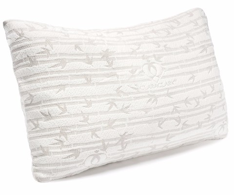 Clara Clark Shredded Memory Foam Pillow, Queen Size