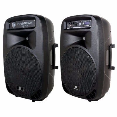 PRORECK Party 15 Portable PA SYSTEM